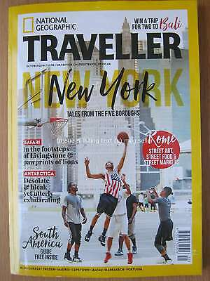 National Geographic Traveller October 2016 New York Antarctica South America