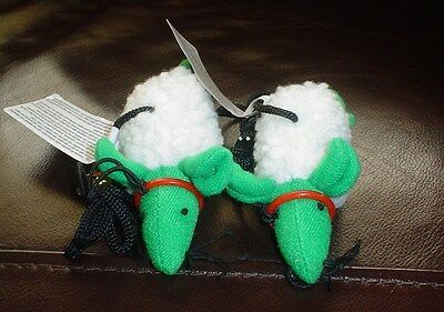 Pair Of Pull Along Mice Cat Toy