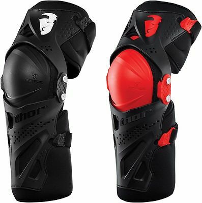Thor Force XP Knee Guards - Motocross Dirtbike Offroad