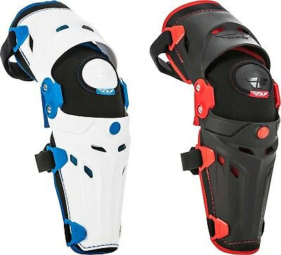Fly Racing 5 Pivot Knee/Shin Guards - Motocross Dirtbike Offroad