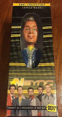 2001 Lance Bass N Sync Bobblehead Figure Numbered with C.O.A.