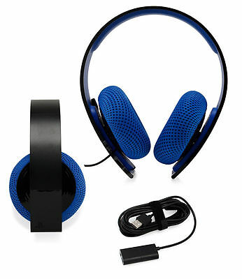 PlayStation Silver Wired Stereo Headset PS4 PS3 PS Surround Sound Refurbished