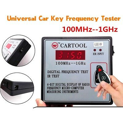 Universal Digital Frequency Test Car IR Infrared Remote Key Frequency Tester