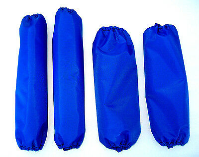 Shock Covers Dirt Late Model Blue Set of 4