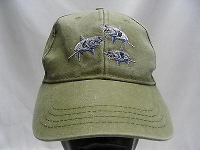 Sharks - Youth Size - Adjustable Ball Cap Hat!