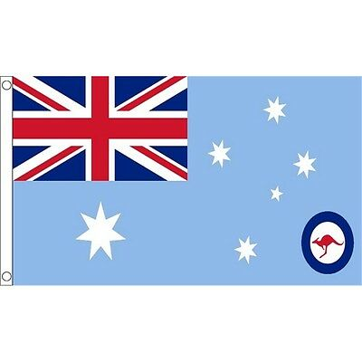 5ft x 3ft Australia Raaf Ensign Flag - Australian 5ft With Metal Eyelets