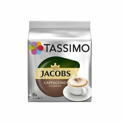 Tassimo Jacobs Cappuccino Classico (8 servings)