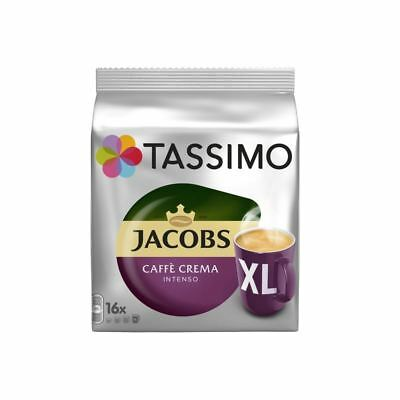 Tassimo Jacobs Caffè Crema Intenso Xl (16 servings)