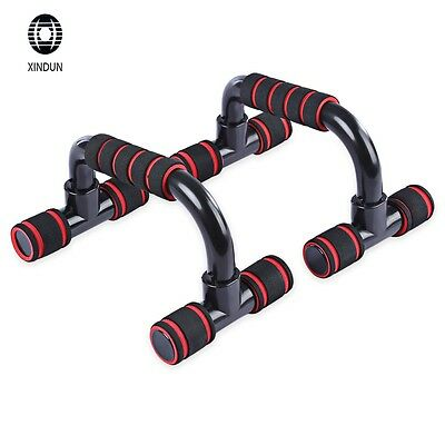 Push-up Bar Stand Pull Press Bar Foam Handle Fitness Exercise Pushup Chest Arms