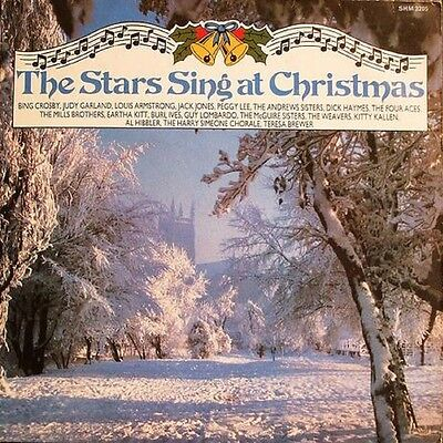 VARIOUS The Stars Sing At Christmas 1985  UK VINYL LP EXCELLENT CONDITION