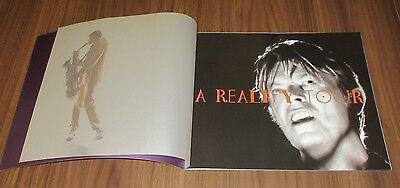 David Bowie JAPAN tour book 2004  concert program MORE DB in stock & listed!
