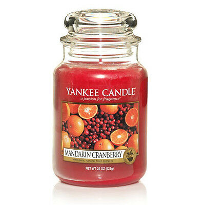 Yankee Candle Large Jar Scented Candle - Mandarin Cranberry