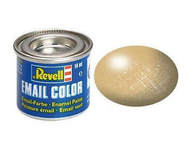 REVELL 32194 - (14,21€/100ml) EMAIL FARBE - GOLD METALLIC - 14ml
