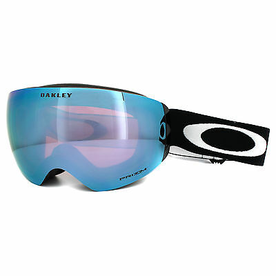 Oakley Ski Snow Goggles Flight Deck XM OO7064-41 Black Prizm Sapphire Iridium
