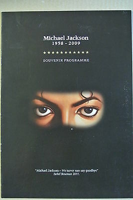 Michael Jackson 1958-2009 Programme. Personally signed by 15. Ashley Banjo etc.