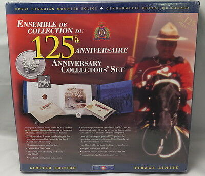 1998 CANADIAN 125th ANNIVERSARY COLLECTOR'S SET, W/RCMP PRIVY