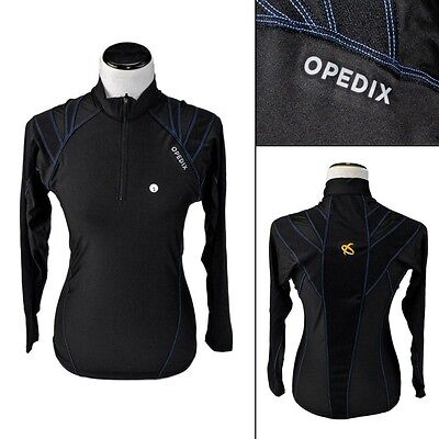 New OPEDIX by ALIGNMED Womens Zip Neck Compression Posture Shirt L fits M NWT!