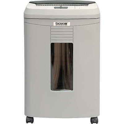 Boxis Autoshred 100 Sheet Autofeed Microcut Shredder 6 Gallon Basket New!!