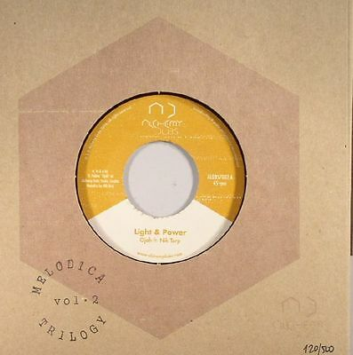 """OJAH - Light & Power - Vinyl (limited hand-stamped hand-numbered 7"""")"""