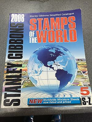 Stanley Gibbons  Stanley Gibbons - Stamps of the world (2008) Volume S-Z