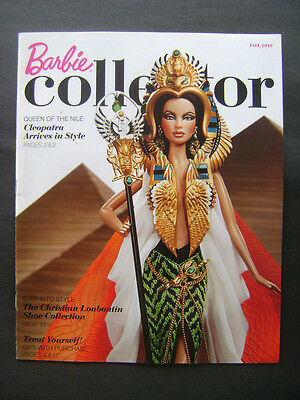 BARBIE COLLECTOR Catalog Fall 2010 Cleopatra Mad Men Louboutin Twilight Athena