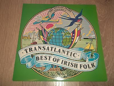"Various "" Best Of Irish Folk (The Vintage Years Vol. 2) "" Vinyl Lp Ex/ex"