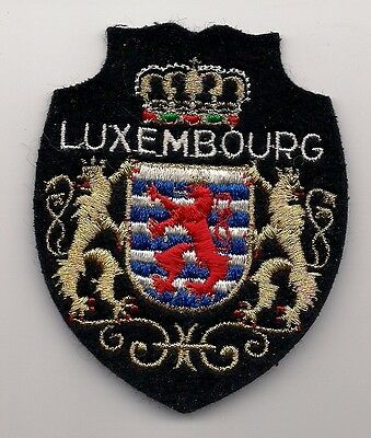 Souvenir Travel Patch - Country Of Luxembourg