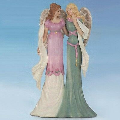 Angels of Sisterly Comfort Thomas Kinkade Sisters Figurine