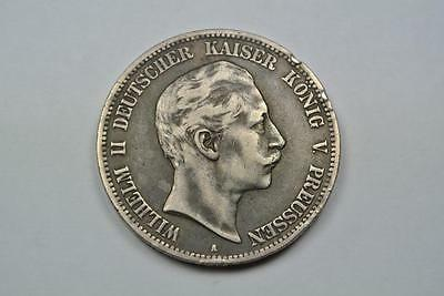 1908-A 5 Mark, Prussia, German State, VF Details - C1210
