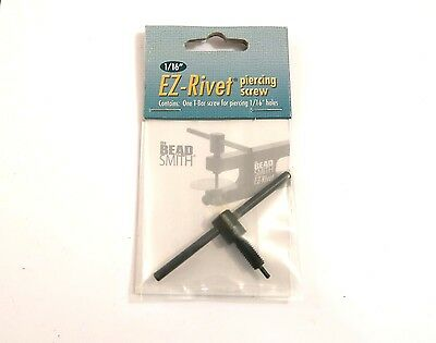 "Beadsmith 1/16"" PIERCING REPLACEMENT FOR EZ-RIVET Accessory set"