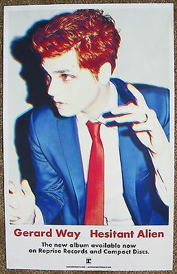 GERARD WAY Album POSTER Hesitant Alien MY CHEMICAL ROMANCE