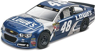 2016 48 Jimmie Johnson LOWE's Chevy SS 1/24 scale skill 2 Revell kit#1475