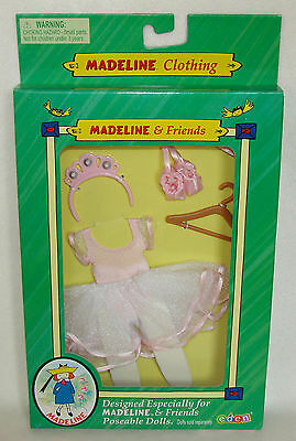 """Madeline 8"""" Doll Ballerina Outfit Clothing Set Green Box Eden NEW!"""