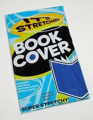 Academic Super Stretchy Stretchable Blue Book Cover Factory Sealed Package Mip