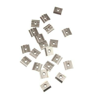 20x M4 M5 M6 M8 Motorcycle Square Nuts Square Machine Screw Nuts Stainless Steel