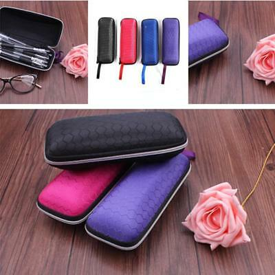 Sunglasses Reading Glasses Carry Case Bag Hard Zipper Box Travel Pack Pouch LG