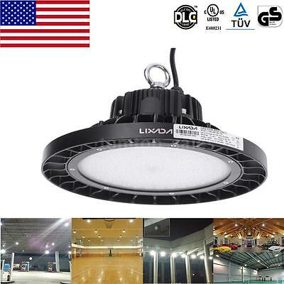 Lixada 160W~240W Pendant LED High Bay Light Fixture Lamp Industrial Exhibition