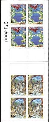 Mint stamps in booklet Europa CEPT 2001 from  Bulgaria