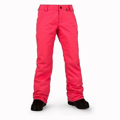 |H1251704-EPK| Pantalones Volcom – Frochickie Ins rosa 2016 Mujer Poliéster Volc