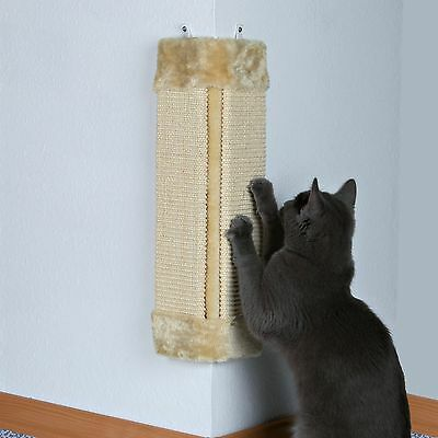 New Scratcher - Trixie Cat Scratching Boards For Corners Of A Walls - 49cm