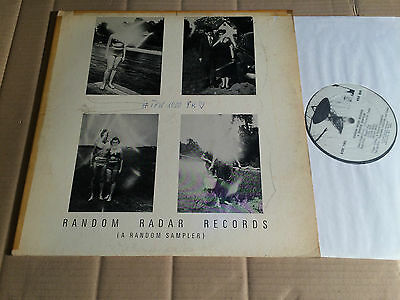 V/a - Random Radar Records - Sampler - Fred Frith / Mars Everywhere - Lp