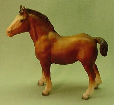 Vintage Breyer Clydesdale foal #84 model toy horse Retired