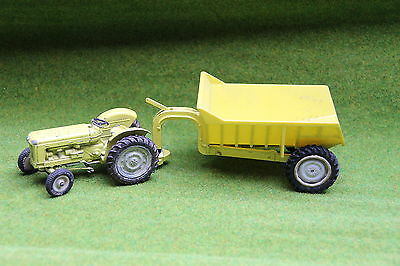 Britains: Fordson New Performance Major yellow + Rear Dump (Industry) very rare