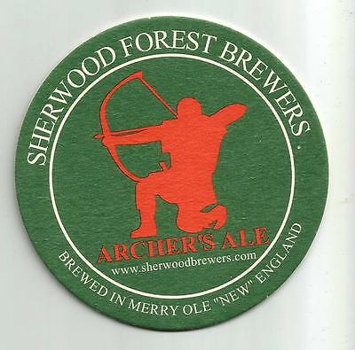 15 Sherwood Forest Brewers Archer's Ale   Beer Coasters