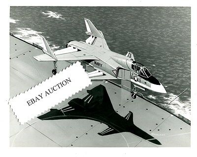 NORTH AMERICAN AVIATION ROCKWELL XFV-12A US Navy Prototype Drawing Photo