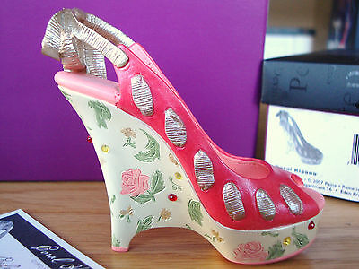 Just The Right Shoe - Coral Kisses, JTRS 10th Anniversary Shoe