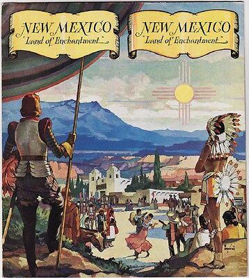 1941 New Mexico State Tourism Promotional Booklet