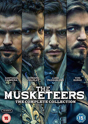The Musketeers: The Complete Collection DVD Box Set NEW