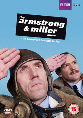 The Armstrong and Miller Show: Complete Series 2 DVD NEW
