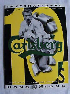 Programme Rugby 10's HONG KONG March 1993